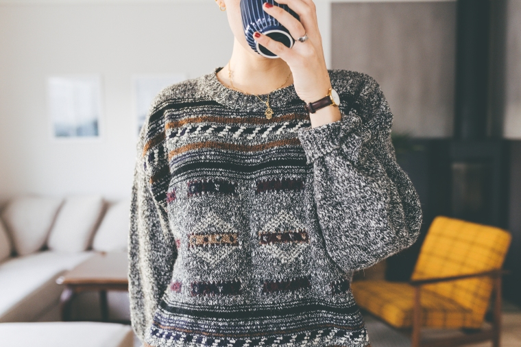 Secondhand - the ugly Rome sweater3