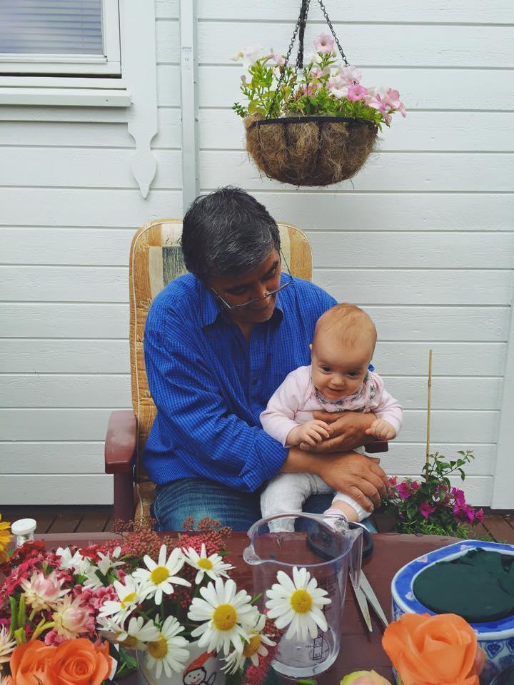 Throwback; pappa og nelis